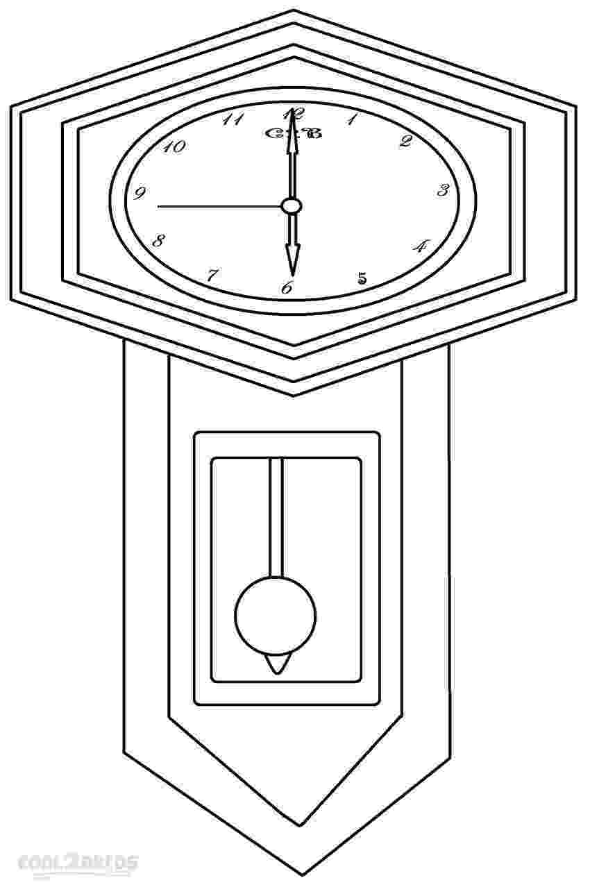 clock coloring page clock face coloring page getcoloringpagescom coloring page clock