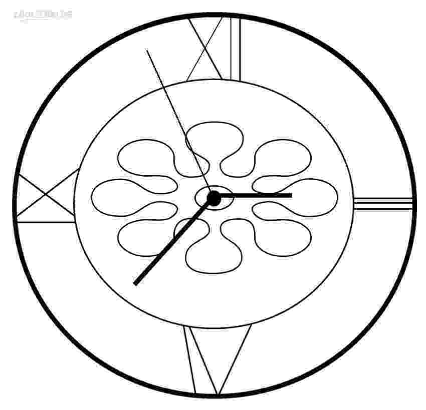 clock coloring page english 2 updating your english world coloring clock page