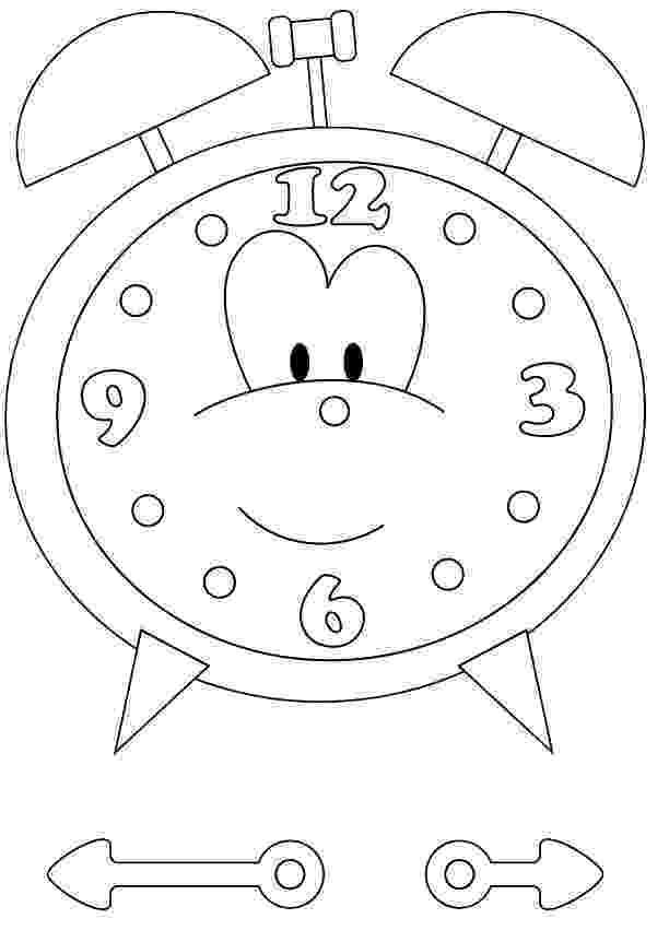 clock coloring page free printable clock coloring pages for kids page clock coloring