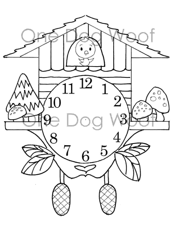 clock coloring page free printable clock coloring pages for kids page clock coloring 1 1