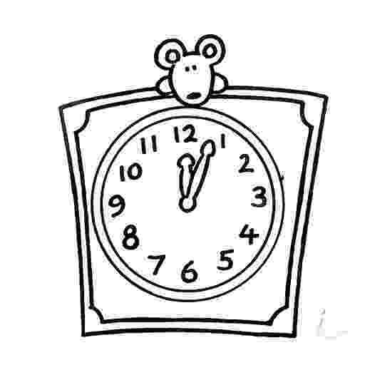 clock coloring page free printable clock coloring pages for kids page coloring clock