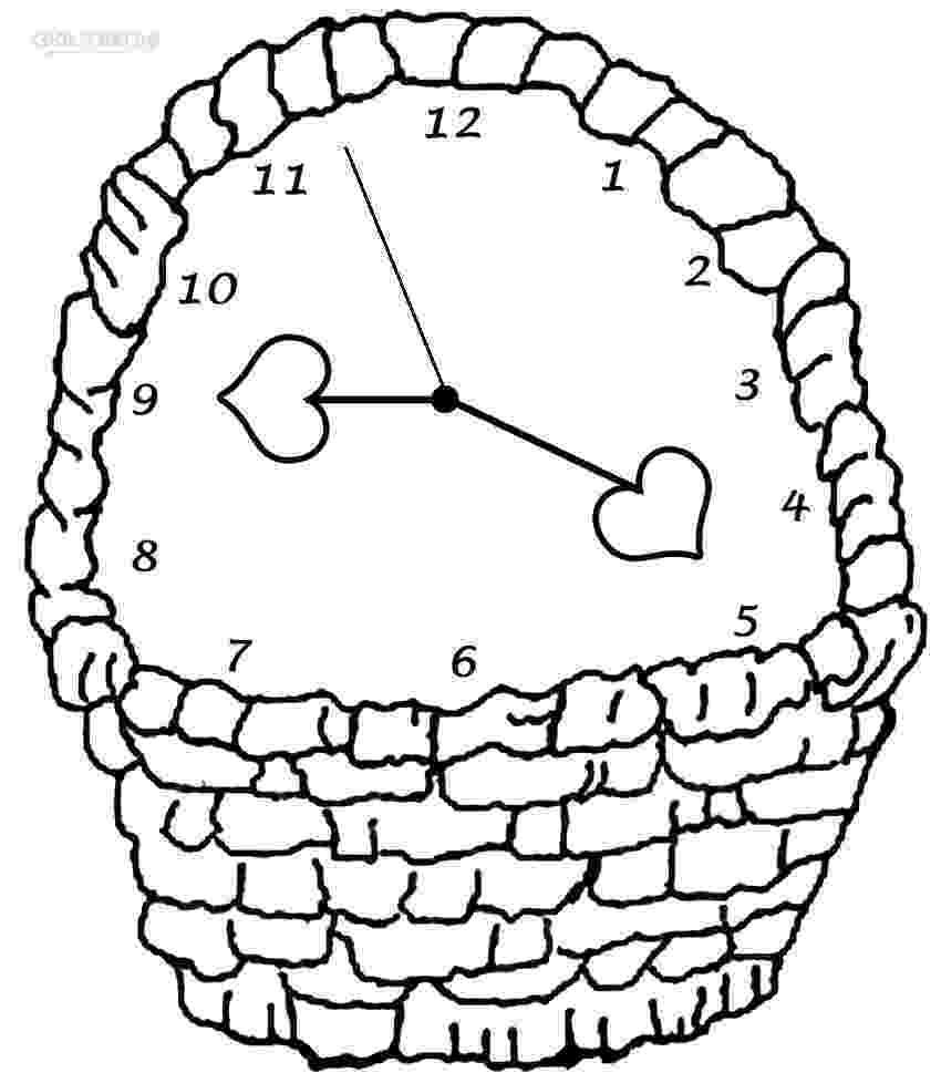 clock coloring page printable clock coloring pages for kids cool2bkids clock coloring page 1 1