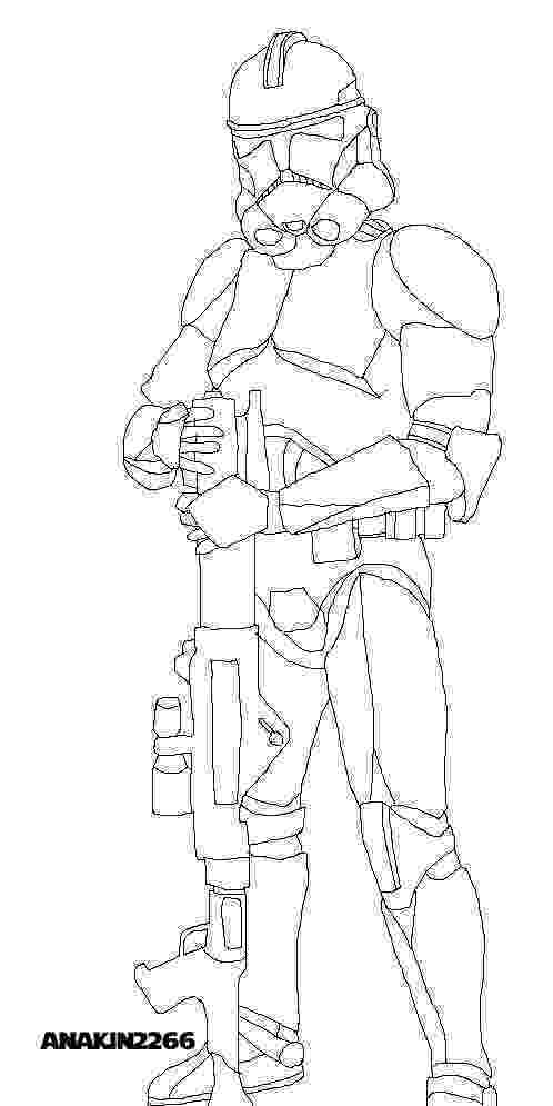 clone trooper coloring page star wars clone wars coloring pages getcoloringpagescom clone coloring page trooper