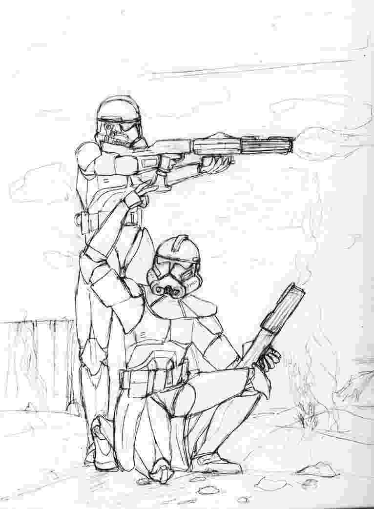 clone trooper coloring pages clone trooper drawing at getdrawingscom free for pages trooper clone coloring