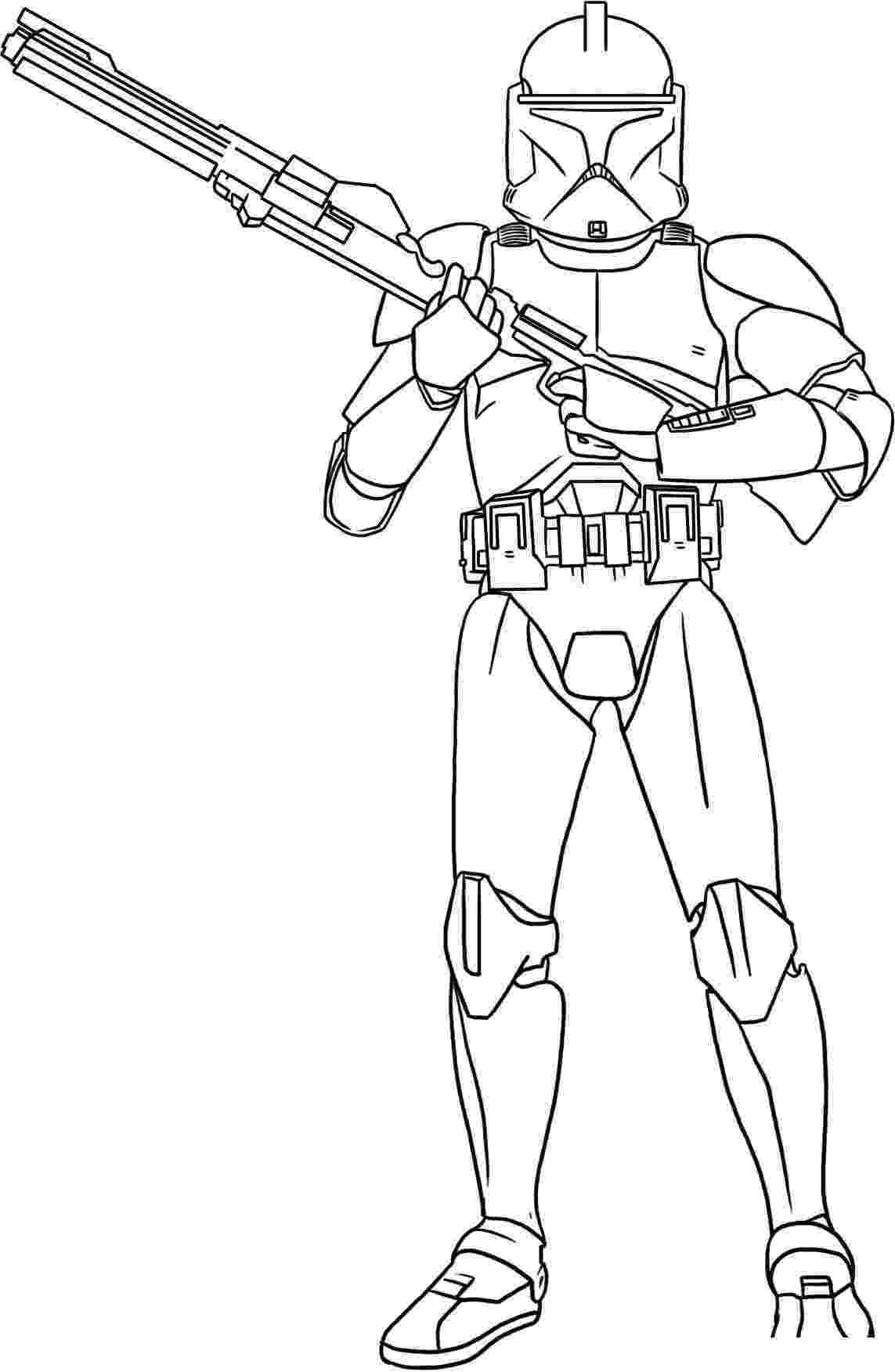 clone trooper coloring pages clone troopers by ahunterinsilence on deviantart clone pages coloring trooper