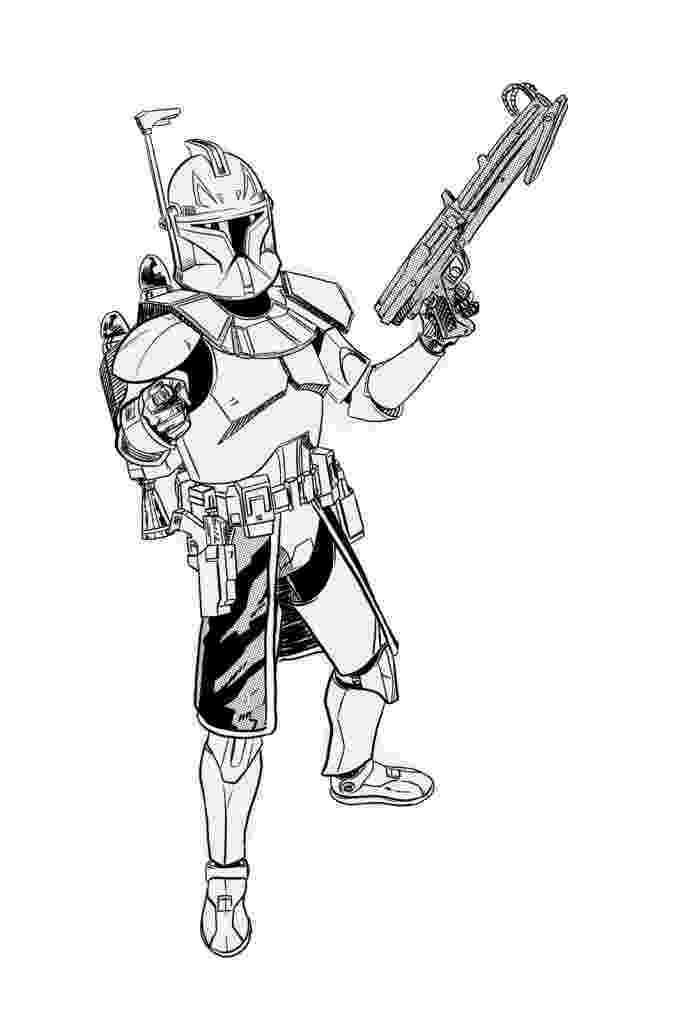 clone trooper coloring pages the clone troopers standby in star wars coloring page pages coloring trooper clone