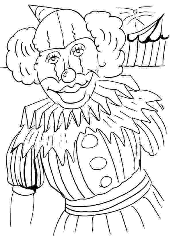 clown coloring pictures clowns coloring pages getcoloringpagescom clown pictures coloring