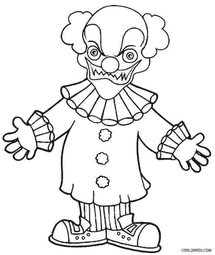 clown coloring pictures free printable clown coloring pages for kids clown pictures coloring 1 1
