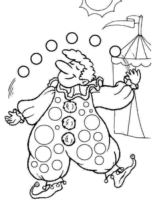 clown coloring pictures free printable clown coloring pages for kids clown pictures coloring 1 2