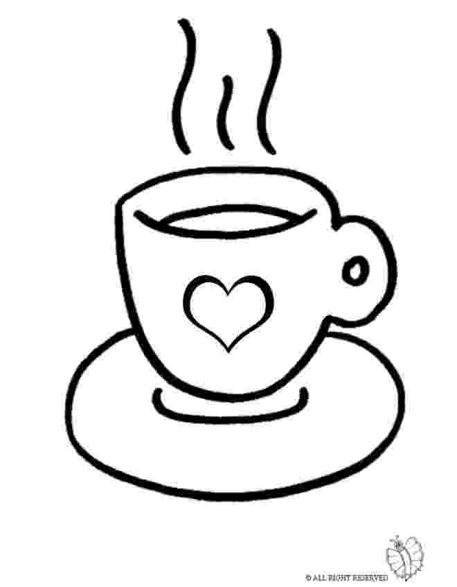 coffee cup coloring pages hot coffee drawing at getdrawings free download cup pages coffee coloring