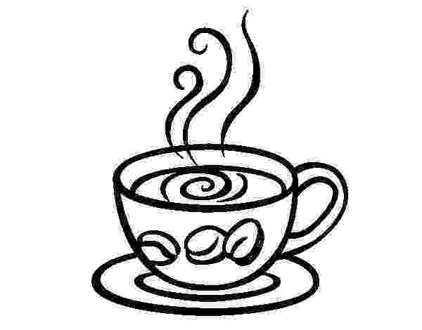 coffee cup coloring pages my cup overflows tea and coffee coffee pages coloring cup