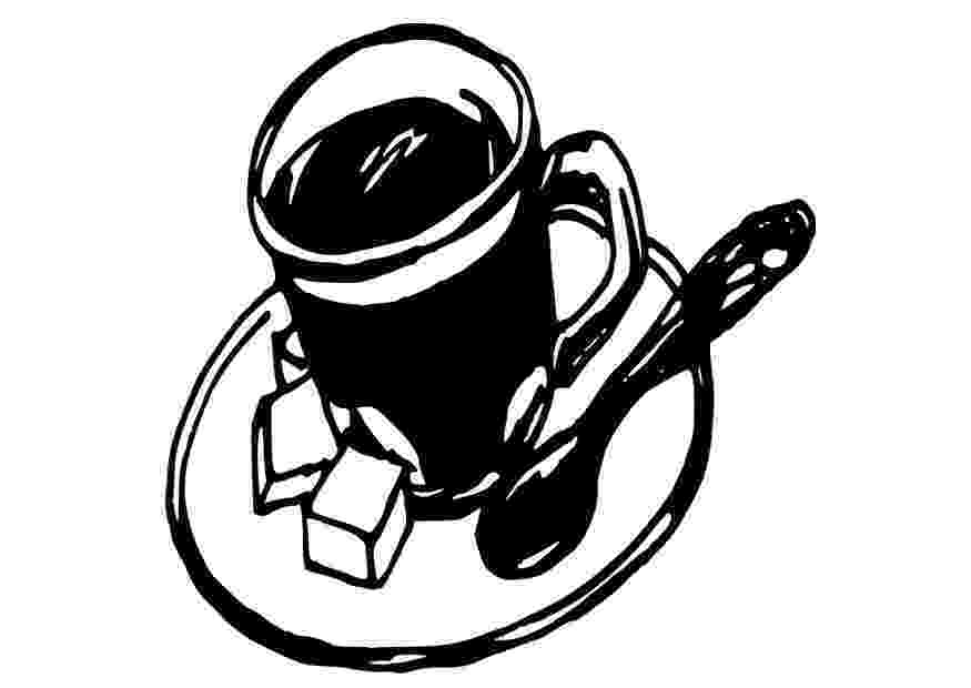 coffee cup coloring pages my cup overflows tea and coffee cup coloring pages coffee
