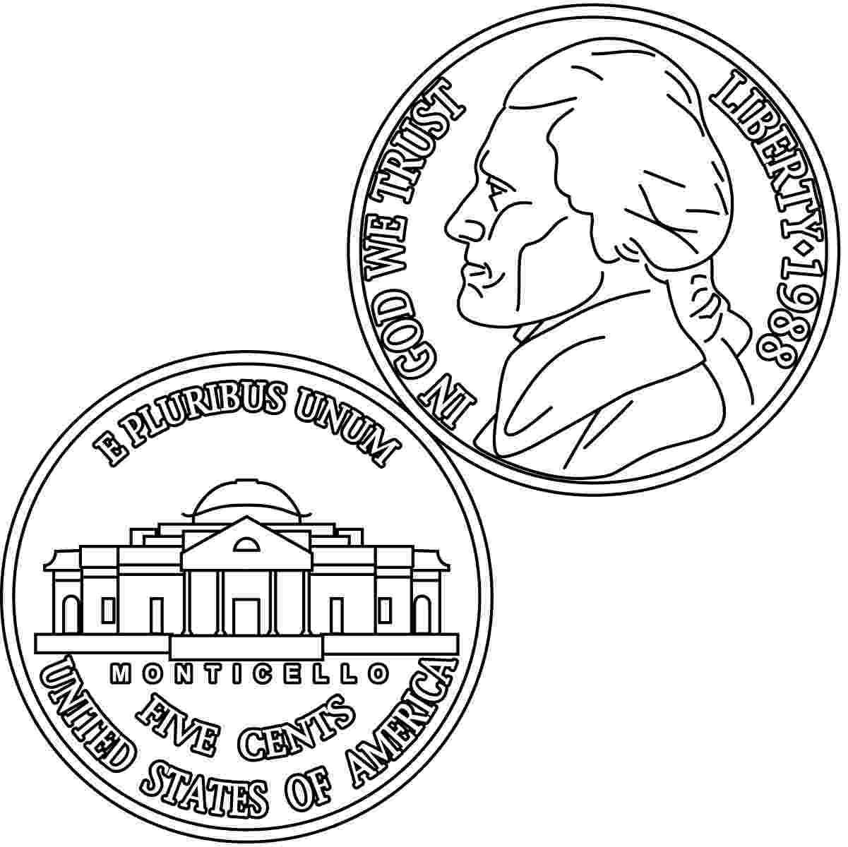 coin coloring pages us coins coloring page printout enchanted learning coin pages coloring