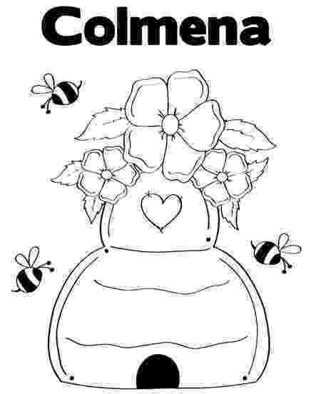 colmenas dibujos apicultor dibujalia dibujos para colorear elementos dibujos colmenas