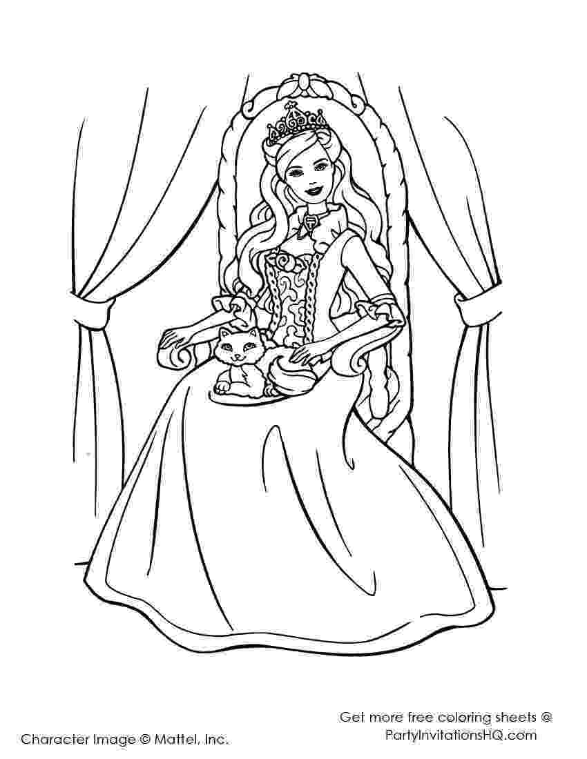 color barbie barbie island coloring pages download and print for free barbie color
