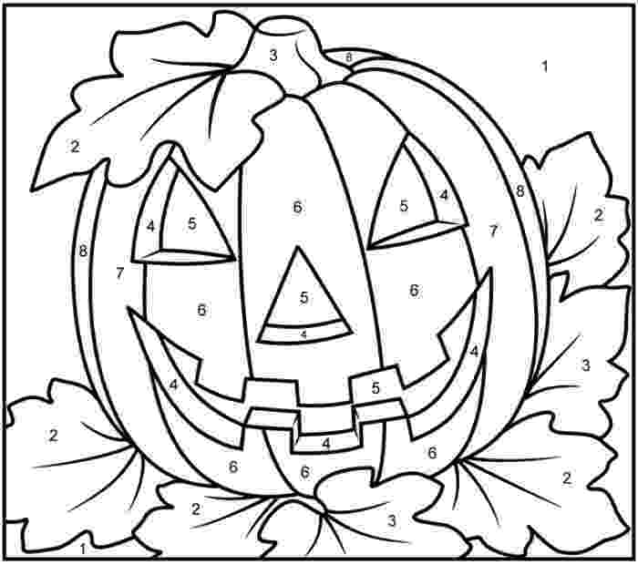 color by number printables 200 free halloween coloring pages for kids the suburban mom number color printables by