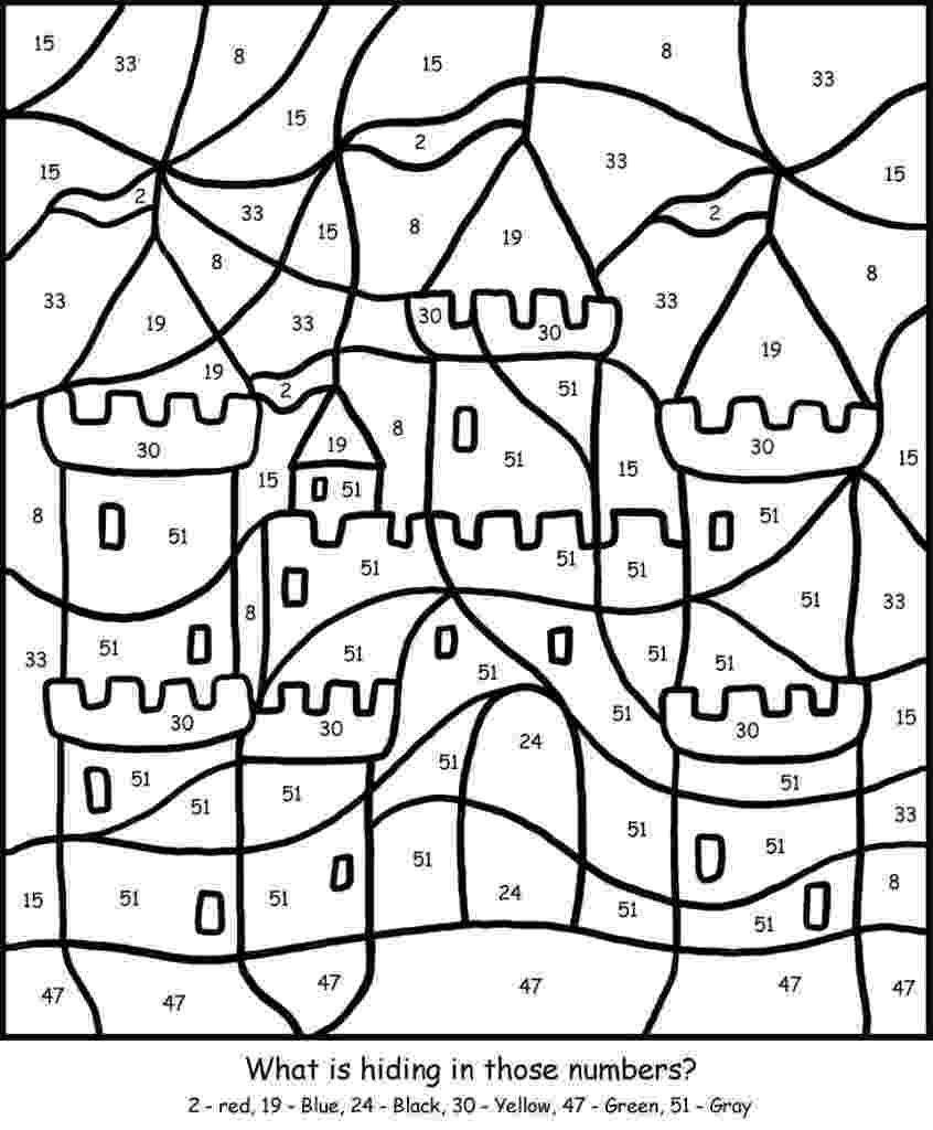 color by number printables free printable color by number coloring pages best number by printables color