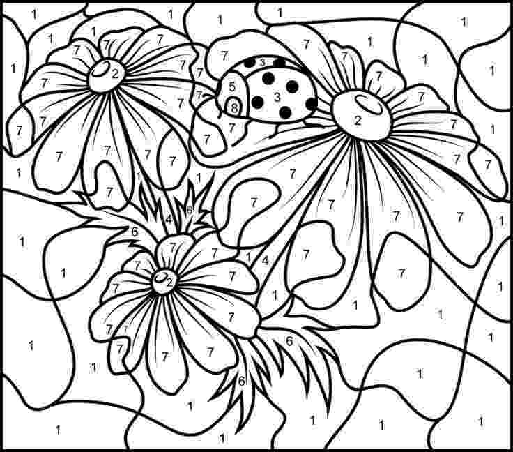 color by number printables numbers coloring pages getcoloringpagescom printables color number by