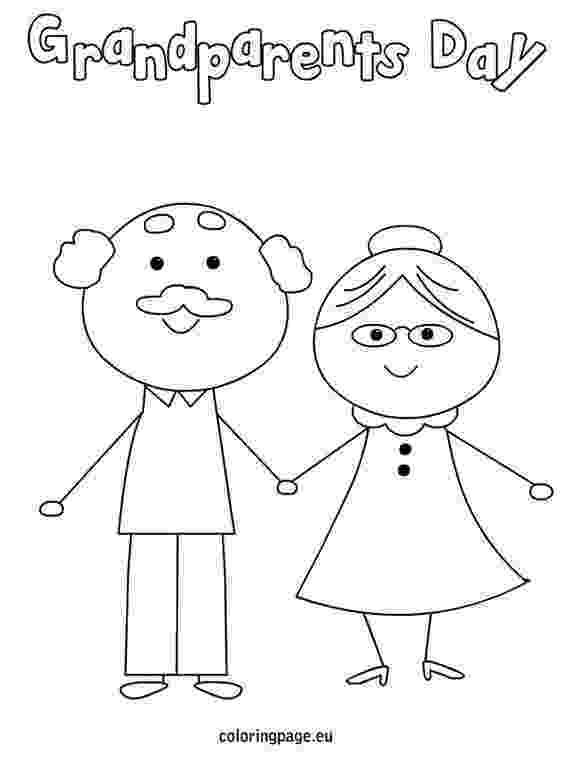 color day ideas grandparents day coloring page happy grandparents day color ideas day