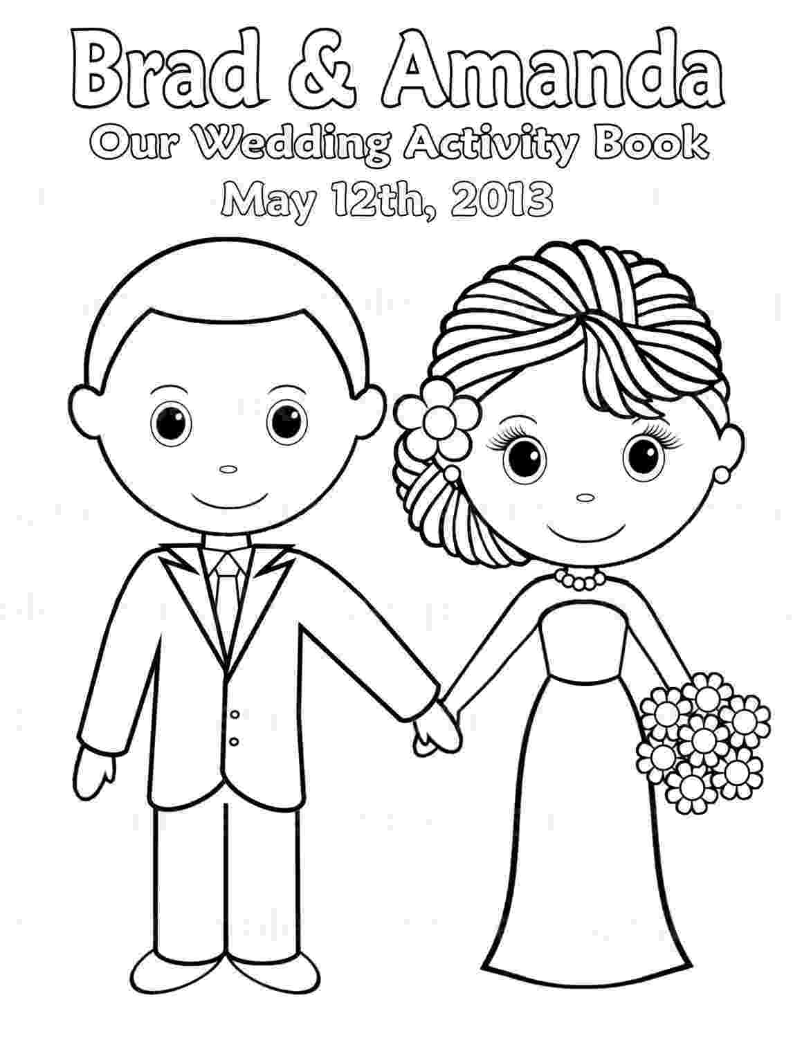 color day ideas printable personalized wedding coloring activity book day ideas color
