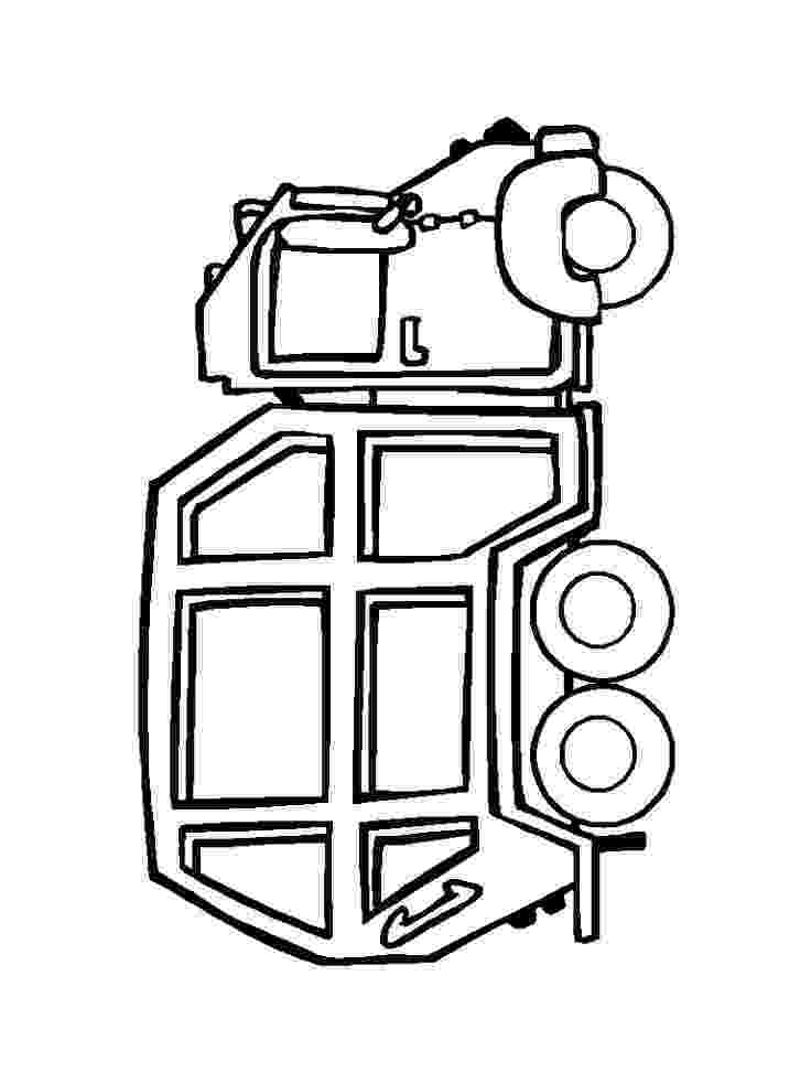 color garbage truck download online coloring pages for free garbage color truck
