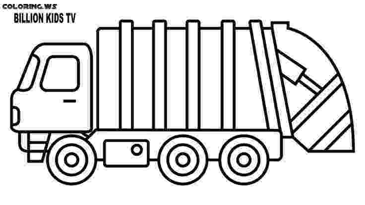 color garbage truck garbage truck coloring page free printable coloring pages truck color garbage