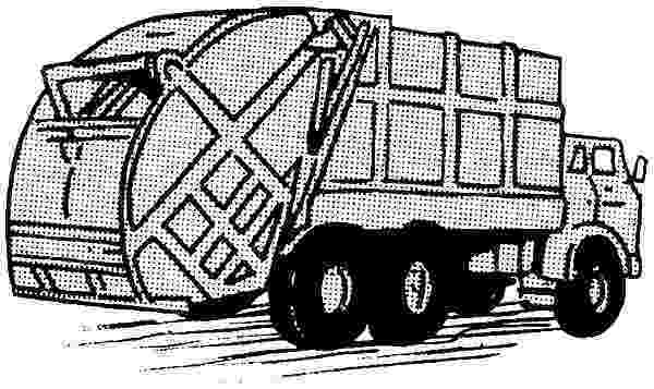 color garbage truck garbage truck coloring pages for kids download print color truck garbage