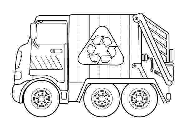 color garbage truck garbage truck picture coloring pages download print garbage color truck