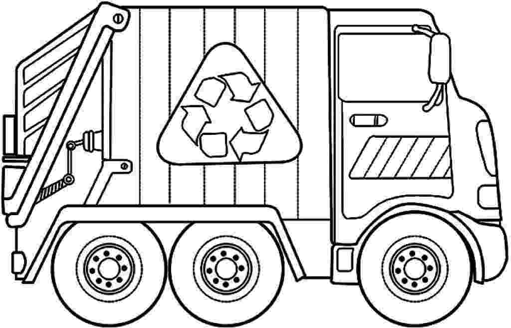 color garbage truck grimy garbage truck coloring page free construction color garbage truck