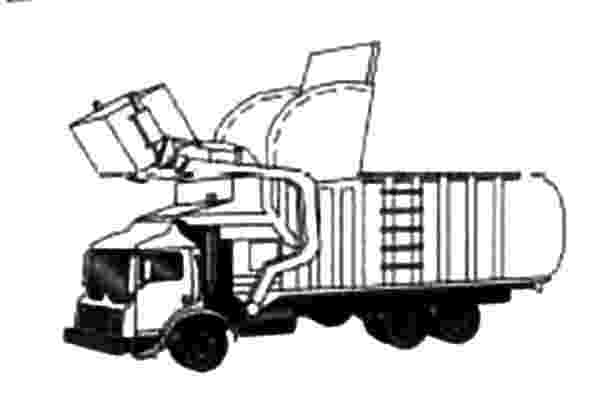 color garbage truck pin by muse printables on coloring pages truck coloring garbage color truck