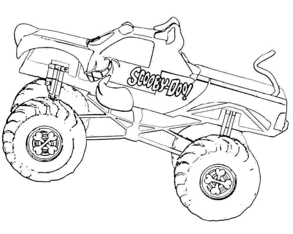 color monster trucks 10 monster jam coloring pages to print trucks color monster