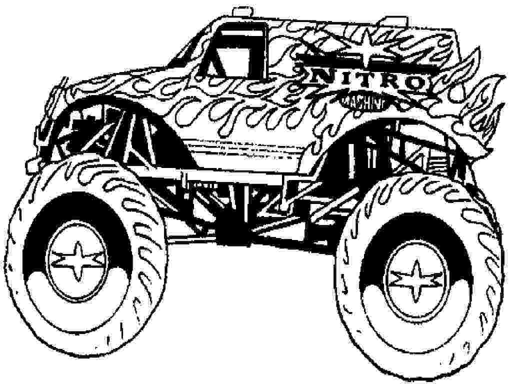 color monster trucks grave digger monster truck coloring page free printable trucks color monster