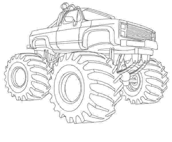 color monster trucks monster truck coloring book pages for when parker finally monster color trucks
