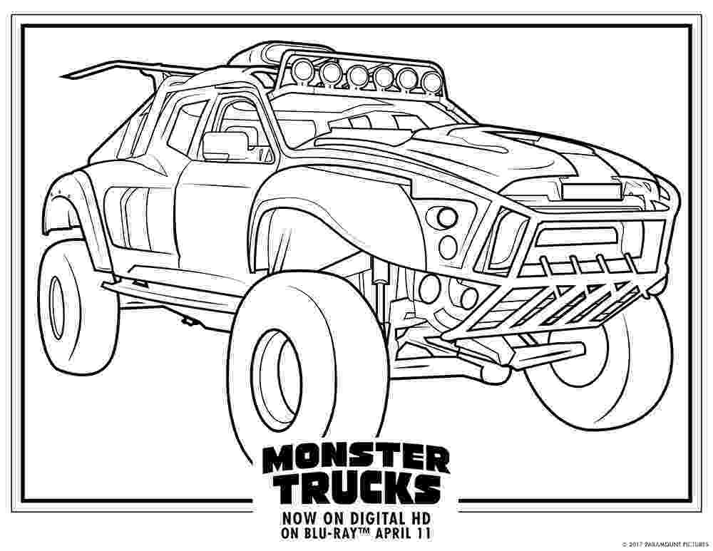 color monster trucks monster trucks printable coloring pages all for the boys monster trucks color