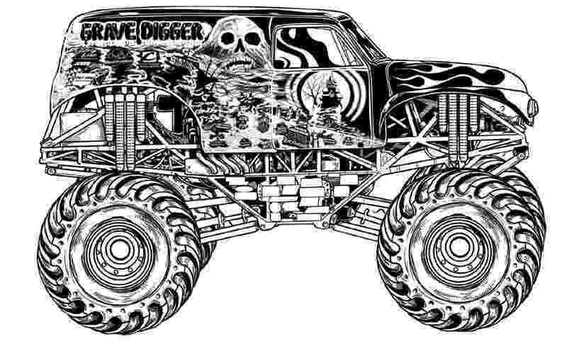 color monster trucks monster trucks printable coloring pages all for the boys trucks monster color