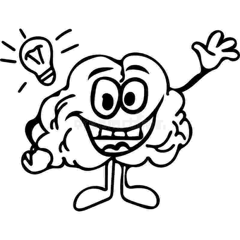color pictures of the brain brain line drawing clipart best brain the color of pictures