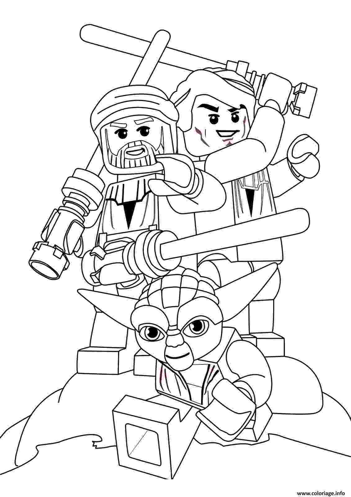 coloriage lego star wars coloriage lego star wars 60 dessin lego coloriage wars star