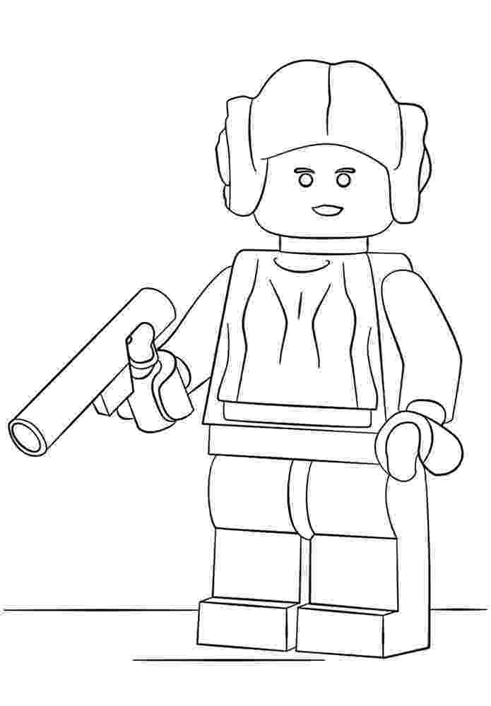 coloriage lego star wars coloriage star wars lego team dessin coloriage star wars lego