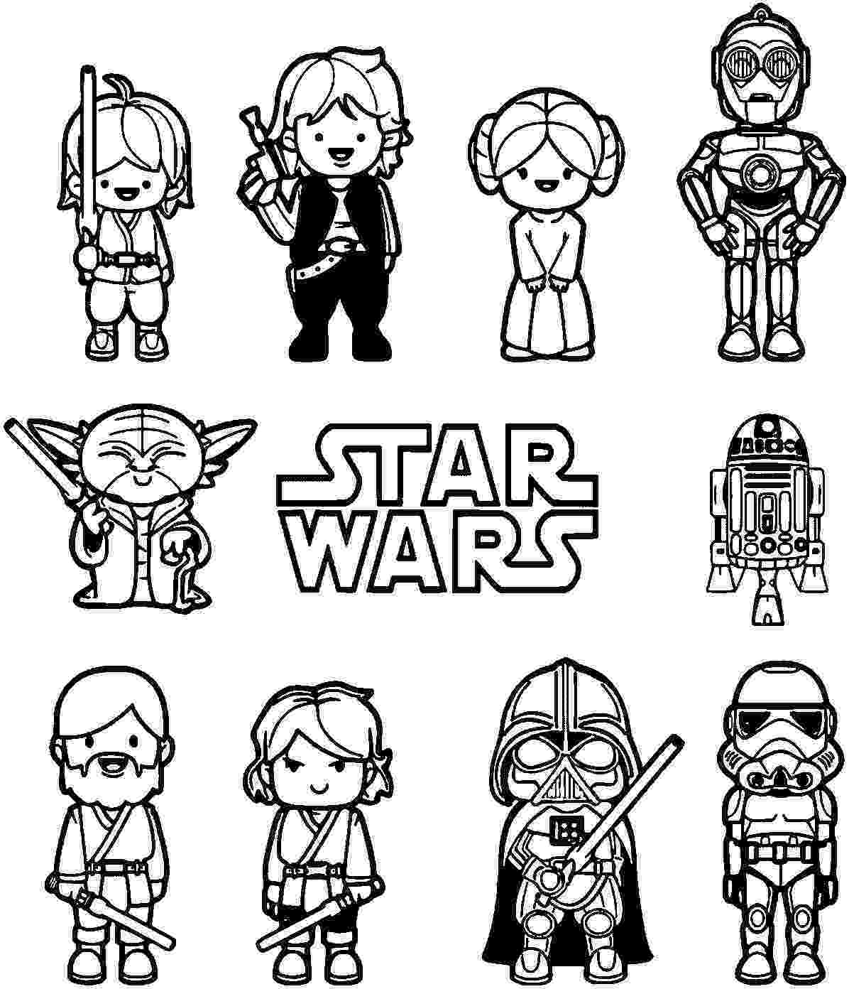 coloriage lego star wars coloriage204 coloriage star wars lego lego coloriage wars star