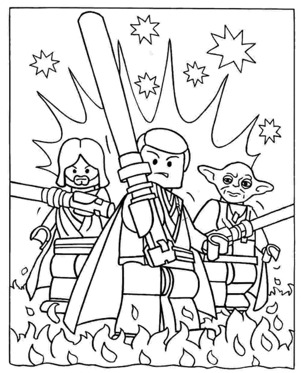 coloriage lego star wars dessin de lego star wars a imprimer coloriage wars lego star