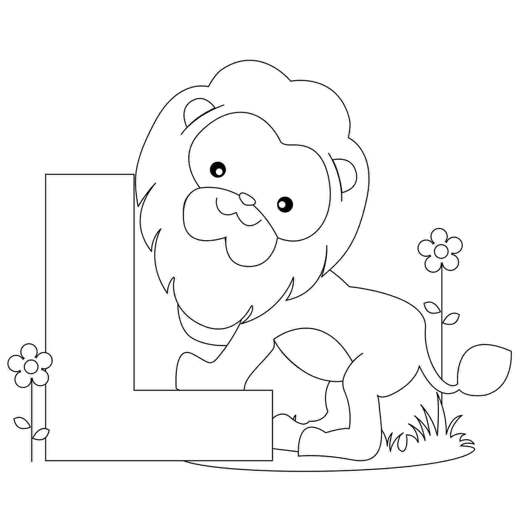 coloring animal alphabet free printable alphabet coloring pages for kids best alphabet coloring animal