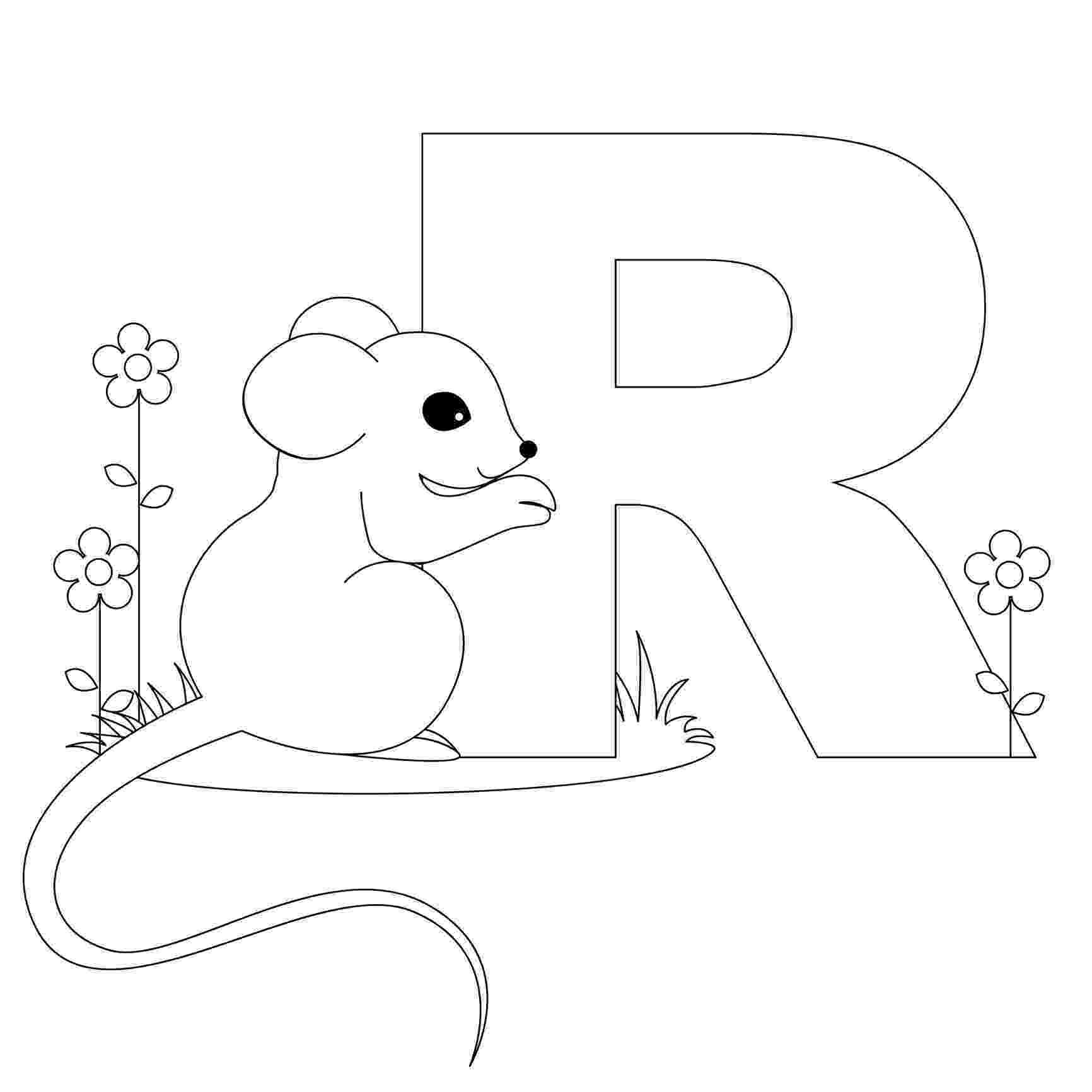 coloring animal alphabet free printable alphabet coloring pages for kids best coloring alphabet animal 1 1