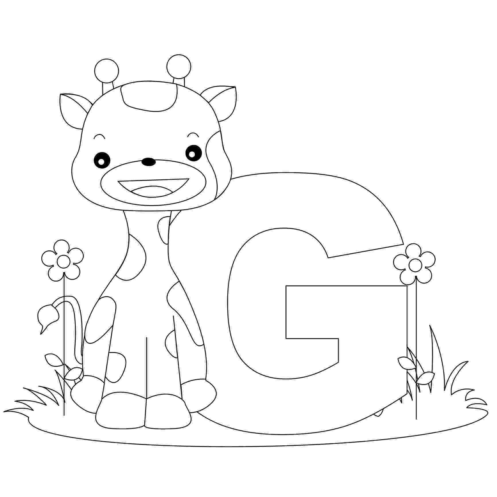 coloring animal alphabet free printable alphabet coloring pages for kids best coloring alphabet animal 1 4