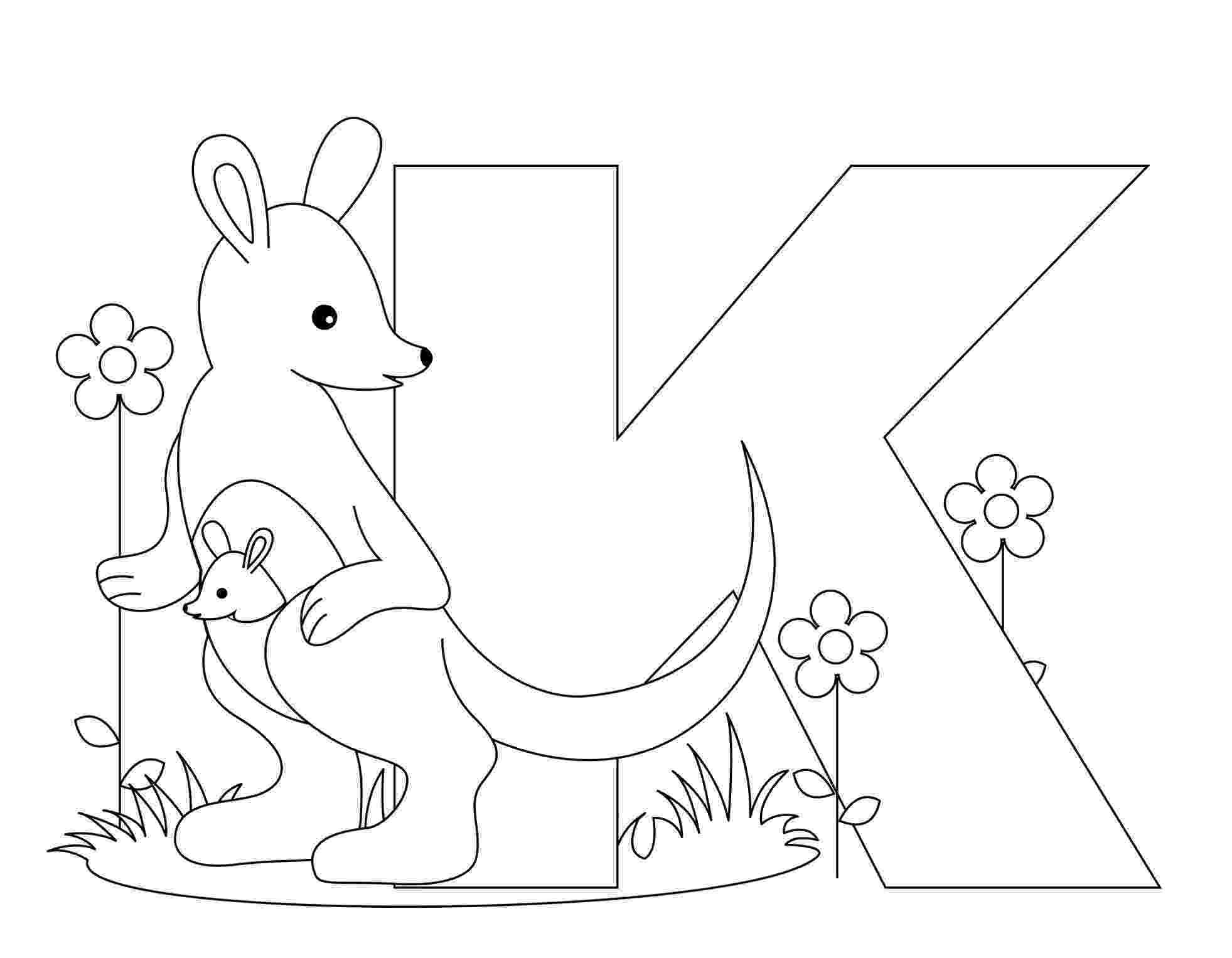 coloring animal alphabet free printable alphabet coloring pages for kids best coloring animal alphabet