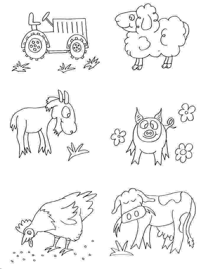 coloring animal farm farm coloring pages getcoloringpagescom animal farm coloring