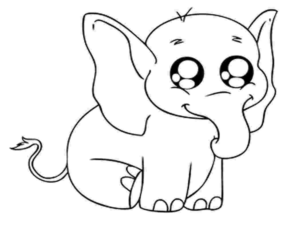 coloring baby animals baby elephant coloring pages to download and print for free baby animals coloring