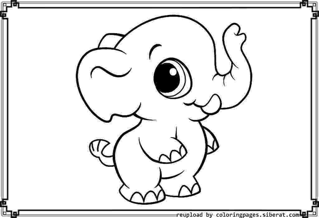 coloring baby animals cute baby animals coloring pages getcoloringpagescom coloring animals baby