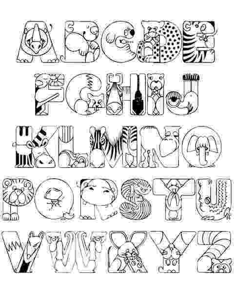 coloring book alphabet free printable alphabet coloring pages for kids best alphabet book coloring 1 3