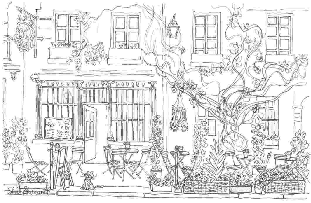 coloring book cafe 1892 best images about coloring pages for adults cafe book coloring