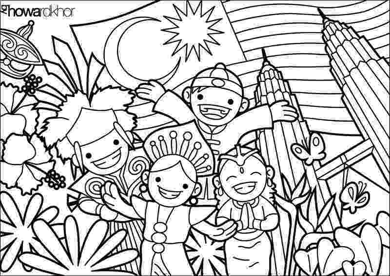coloring book for adults in malaysia malaysia coloring pages download and print for free coloring for book adults malaysia in